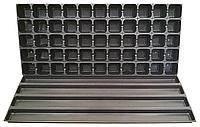 Кассета для рассады с поддоном на 55 ячеек (упаковка 10 шт), фото 1