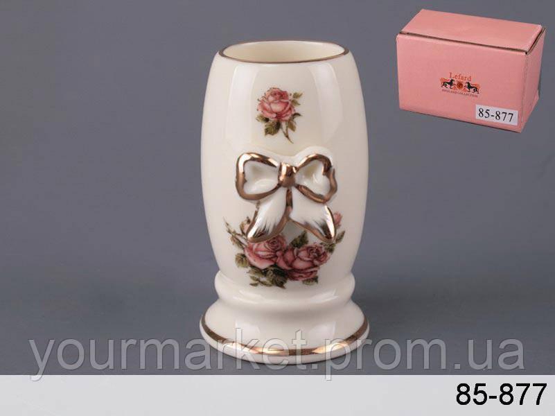 85-877, Подставка под зубочистки Корейская роза 8,5 см