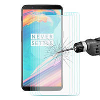 Hat-Принц полностью закаленное стекло для OnePlus 5T 5PCS Прозрачный