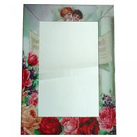 740-001 Зеркало с рамкой Ангелы 80х60х4,5 см