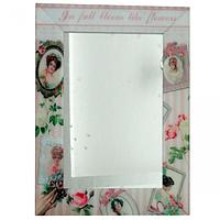 740-002 Зеркало с рамкой Винтаж 80х60х4,5 см