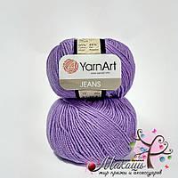 Пряжа Джинс Jeans YarnArt, №72, сирень