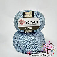 Пряжа Джинс Jeans YarnArt, №75, голубой