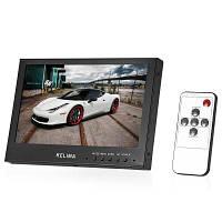 KELIMA 7-дюймовый cветодиодный цветной монитор Full HD экран дисплея Чёрный