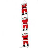 Новогодняя Игрушка Подвесные Санта Клаусы 35 см