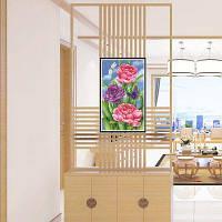 Naiyue Z041 Flowers Print Draw Алмазный рисунок Цветной
