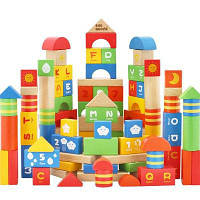 Детская игрушка-головоломка 3-6-летний строительный блок EB002 Цветной