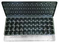Парник-кассета для рассады с поддоном и крышкой на 44 ячейки (упаковка 10 шт)