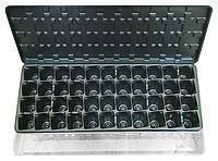 Парник-кассета для рассады с поддоном и крышкой на 44 ячейки (упаковка 10 шт), фото 1