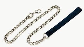 Поводок-цепочка Coastal Titan Heavy Chain для собак тяжелый, 4 мм/1.2 м