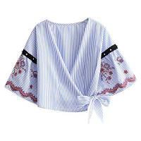 Вышитая блузка один размер