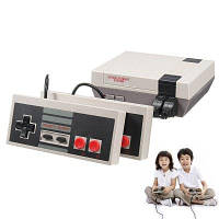 Игровая консоль на 620 классических игр Серый