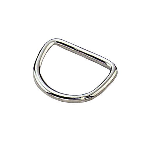 D-кольцо Sprenger для ошейника, нержавеющая сталь, 25х4 мм