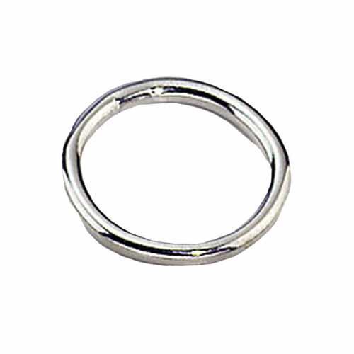 Кольцо Sprenger для ошейников и поводков, нержавеющая сталь, 25х4 мм