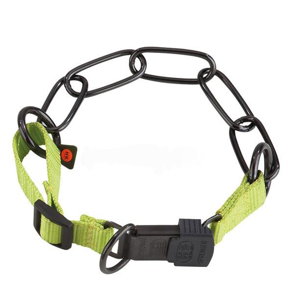 Ошейник Sprenger для собак среднее звено 4 мм, черная сталь, 60-65 см