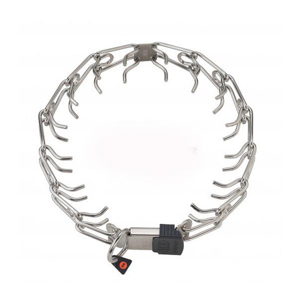 Ошейник строгий Sprenger Ultra Plus для собак кольцо ClicLock, куроган сталь, 52 см