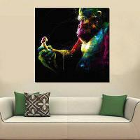 Абстрактная красочная девушка Kong без рамки масляной живописи цвет