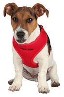 Поводок+шлейка-жилетка Trixie Puppy Soft Harness для щенков, 33-47 см