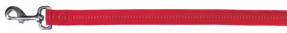Поводок Trixie Softline Elegance Leash для собак, двойной нейлон 25 мм, 1 м