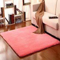 Прикроватная напольная коврик с твердой матовой мягкой мягкой дверью. 40x60см