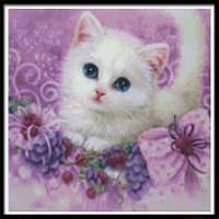 NAIYUE 9513 Живопись для животных с бриллиантами для рисования Алмазная вышивка Алмазная вышивка Белый