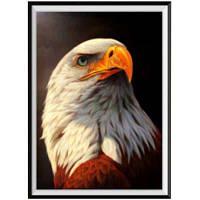 NAIYUE J-6 Eagle Owl Print Draw Алмазная живопись Алмазная вышивка Белый
