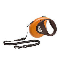 Рулетка Karlie-Flamingo DogxToGo Cord для собак до 20 кг, трос, 5 м, фото 1