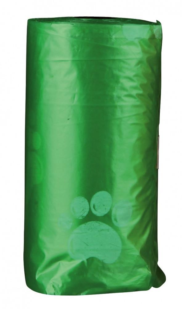 Сменные пакеты Trixie Dog Dirt Bags для сумки для фекалий S, с лапками, 4х20 шт