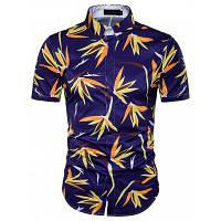 Горячая летняя рубашка с длинным рукавом с длинными рукавами XL