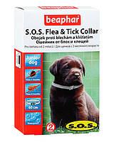 Ошейник Beaphar S.O.S.  блох и клещей для щенков, 60 см