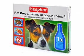Капли Beaphar Flea Drops  блох и клещей для собак мелких пород №3