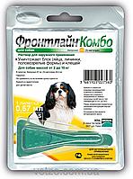 Капли Merial FRONTLINE Combo  блох и клещей для собак 2-10 кг