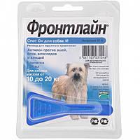 Капли Merial FRONTLINE Spot-On блох и клещей для собак 10-20 кг