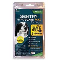 Капли FiproGuard Max (Фипрогард)  блох и клещей для собак 10-20 кг, 1,34 мл