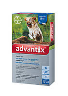 Капли Bayer Advantix (Адвантикс)  блох и клещей у собак более 25 кг