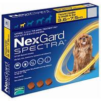 Таблетки NexGard Spectra  блох и клещей для собак, 3.5-7.5 кг