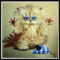 NAIYUE 9477 Картина для рисования животных для животных с бриллиантами Цветной