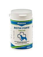 Кормовая добавка Canina Biotin Forte для собак, здоровье кожи и шерсти, 210 шт
