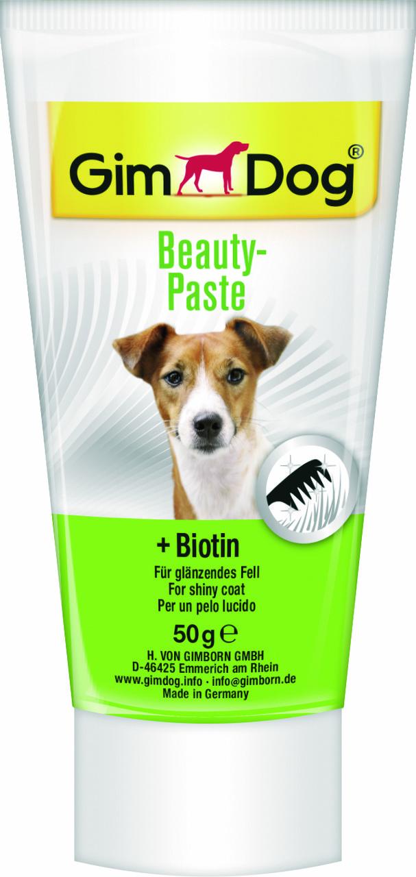 Витаминная паста GimDog Beauty Paste для собак с биином, 50 г
