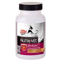 Витаминная добавка Nutri-Vet Pet Ease для собак антистресс, 60 таб
