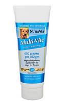 Витаминный комплекс Nutri-Vet Multi-Vite Gel для собак, общеукрепляющий, 89 мл