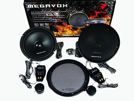 Megavox MHD-622R (300W)  16см двухполосные колонки, фото 2