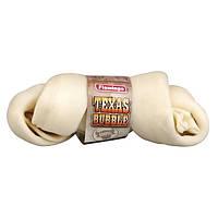 Лакомство Karlie-Flamingo Texas Bubble Bone для собак жевательное, кость с узлами, 10-12 см
