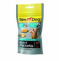 Лакомство GimDog Nutri Pockets Agile для собак, укрепление суставов, 45 г
