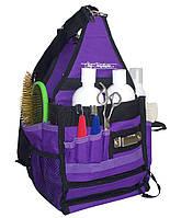 Сумка-органайзер Chris Christensen Ringside Tote Bag фиолетовая, нейлон, L