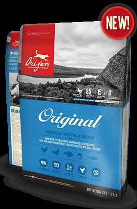Сухой корм Orijen Original Dog 38/18 для взрослых собак всех пород с курицей и индейкой 11.4 кг