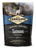 Сухой корм для взрослых собак Carnilove Salmon Adult с лососем 1.5 кг