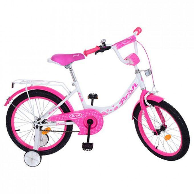 Двухколесный детский велосипед PROFI Princess 18