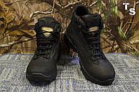 Комбинированные тактические кроссовки «УЛЬТРА» с увеличенной берцой чёрные
