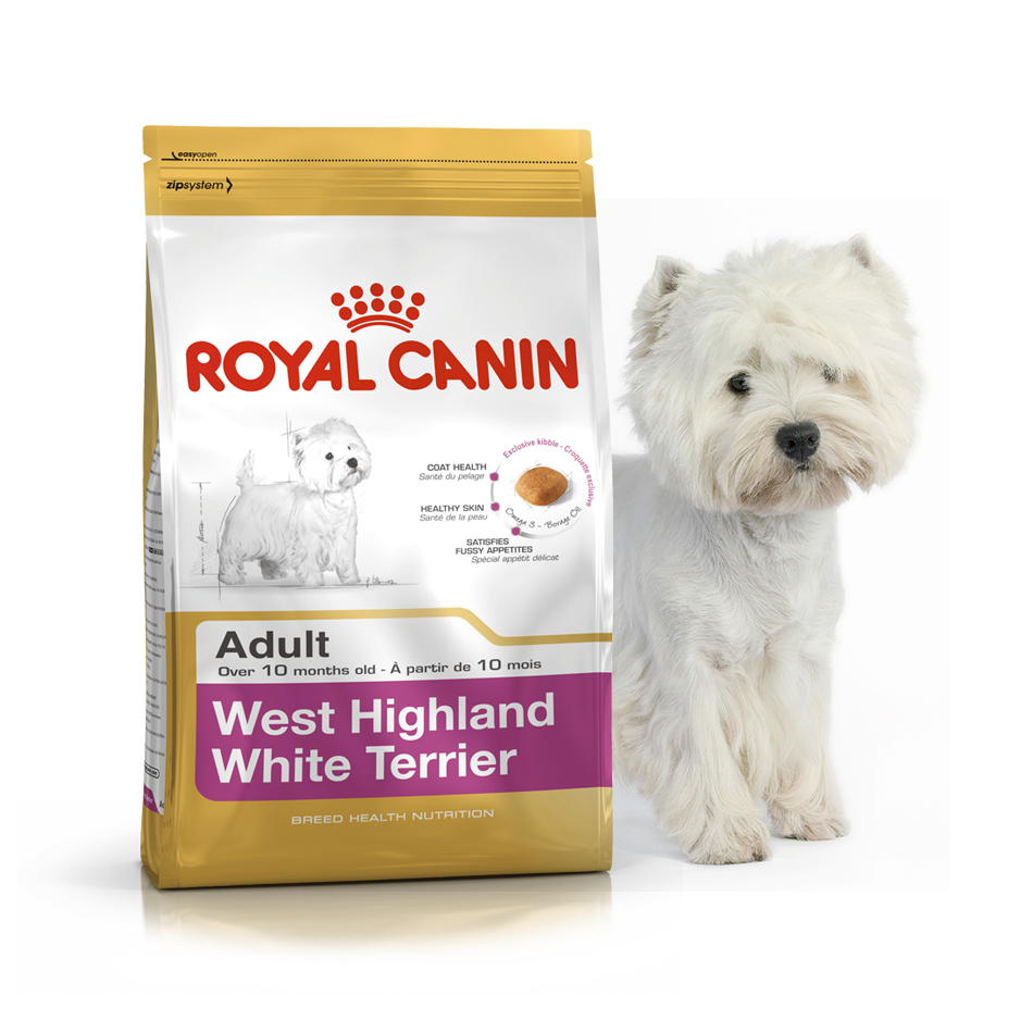 Royal Canin West Highland White Terrier 3 кг для вест хайленд вайт терьеров